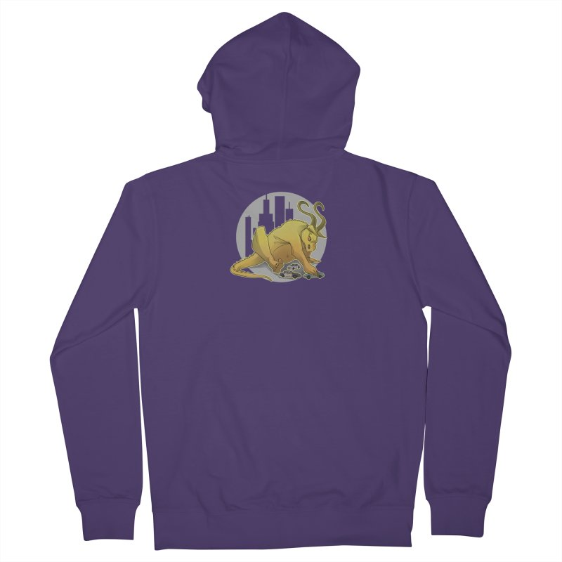 Vroom vroom! by K Lynn Smith Women's French Terry Zip-Up Hoody by Devil's Due Comics