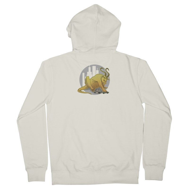 Vroom vroom! by K Lynn Smith Men's French Terry Zip-Up Hoody by Devil's Due Entertainment Depot