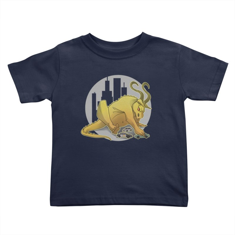 Vroom vroom! by K Lynn Smith Kids Toddler T-Shirt by Devil's Due Entertainment Depot