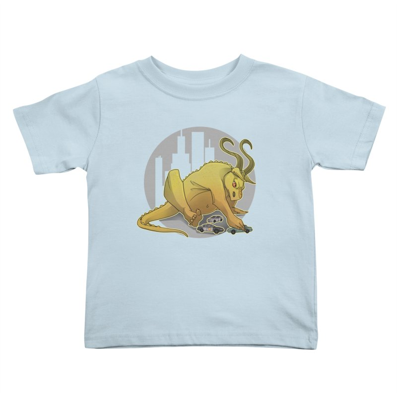 Vroom vroom! by K Lynn Smith Kids Toddler T-Shirt by Devil's Due Comics