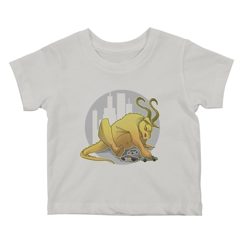 Vroom vroom! by K Lynn Smith Kids Baby T-Shirt by Devil's Due Entertainment Depot