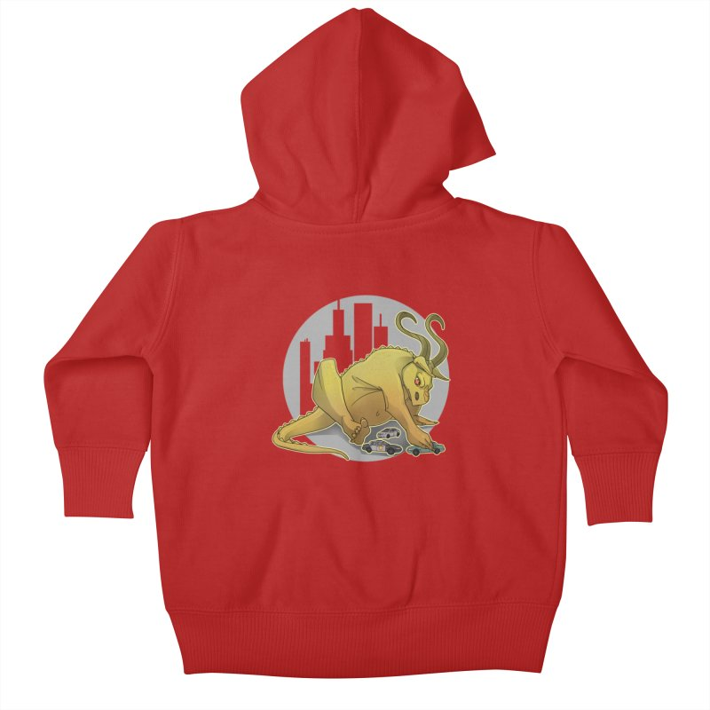 Vroom vroom! by K Lynn Smith Kids Baby Zip-Up Hoody by Devil's Due Entertainment Depot