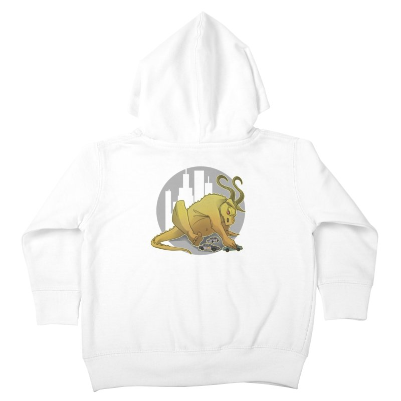 Vroom vroom! by K Lynn Smith Kids Toddler Zip-Up Hoody by Devil's Due Entertainment Depot