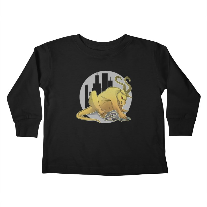 Vroom vroom! by K Lynn Smith Kids Toddler Longsleeve T-Shirt by Devil's Due Comics