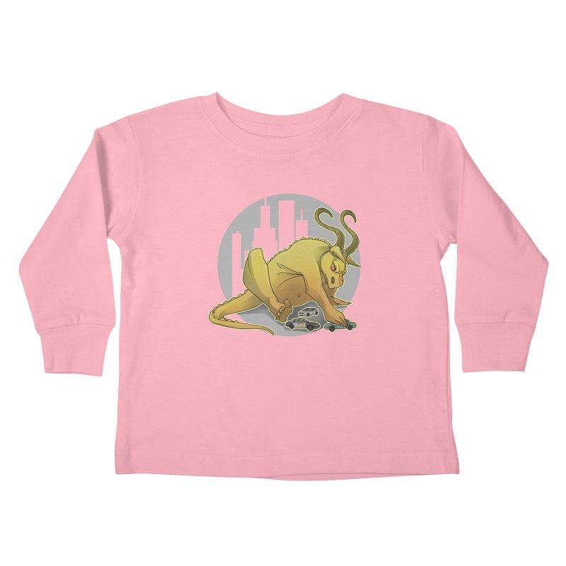 Vroom vroom! by K Lynn Smith Kids Toddler Longsleeve T-Shirt by Devil's Due Comics