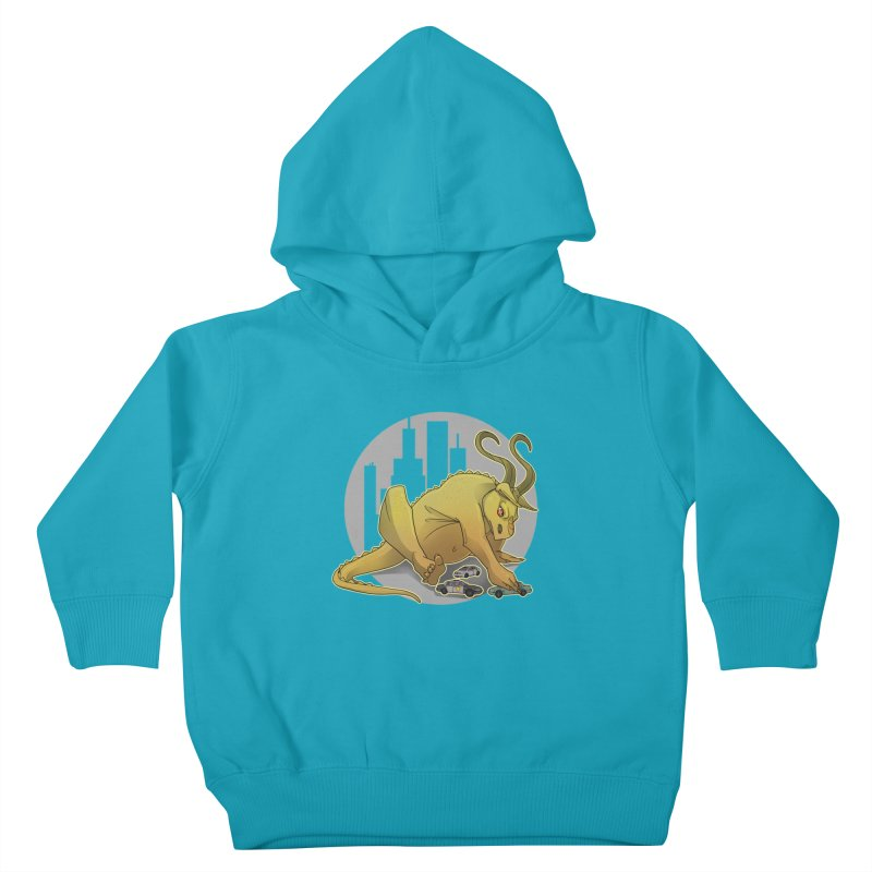 Vroom vroom! by K Lynn Smith Kids Toddler Pullover Hoody by Devil's Due Entertainment Depot