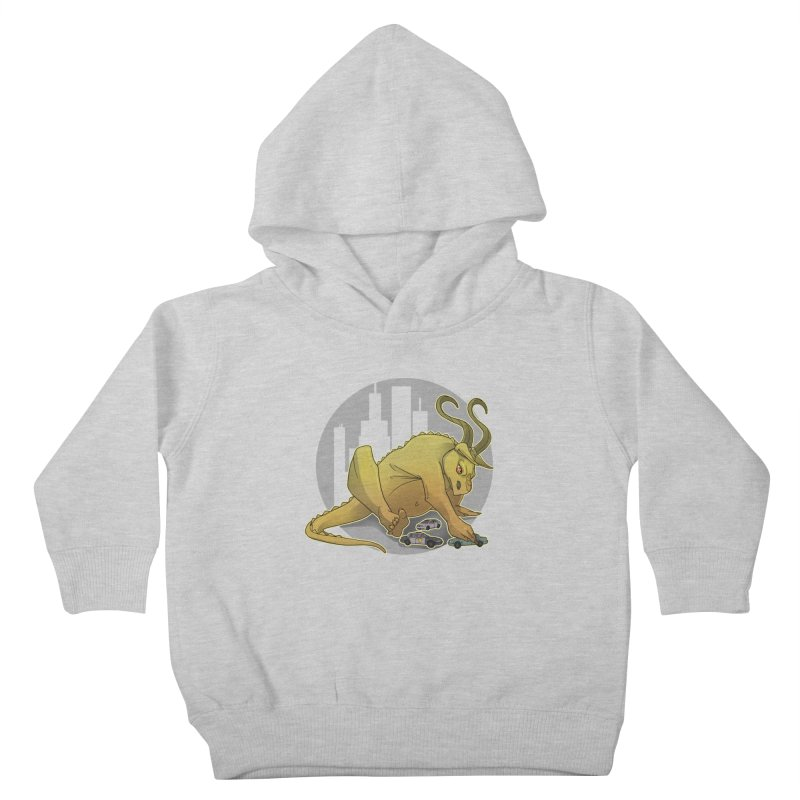 Vroom vroom! by K Lynn Smith Kids Toddler Pullover Hoody by Devil's Due Comics