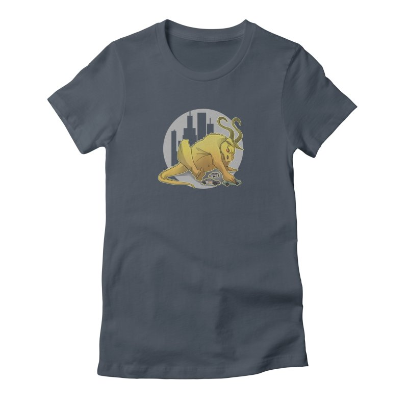 Vroom vroom! by K Lynn Smith Women's T-Shirt by Devil's Due Comics