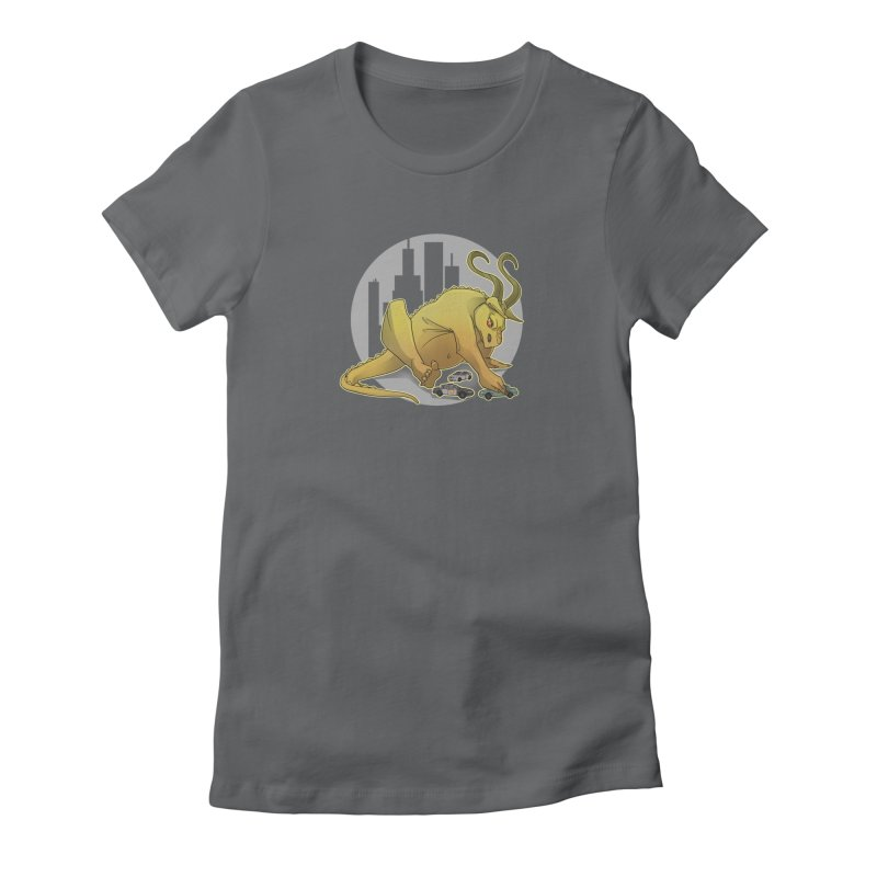Vroom vroom! by K Lynn Smith Women's Fitted T-Shirt by Devil's Due Entertainment Depot
