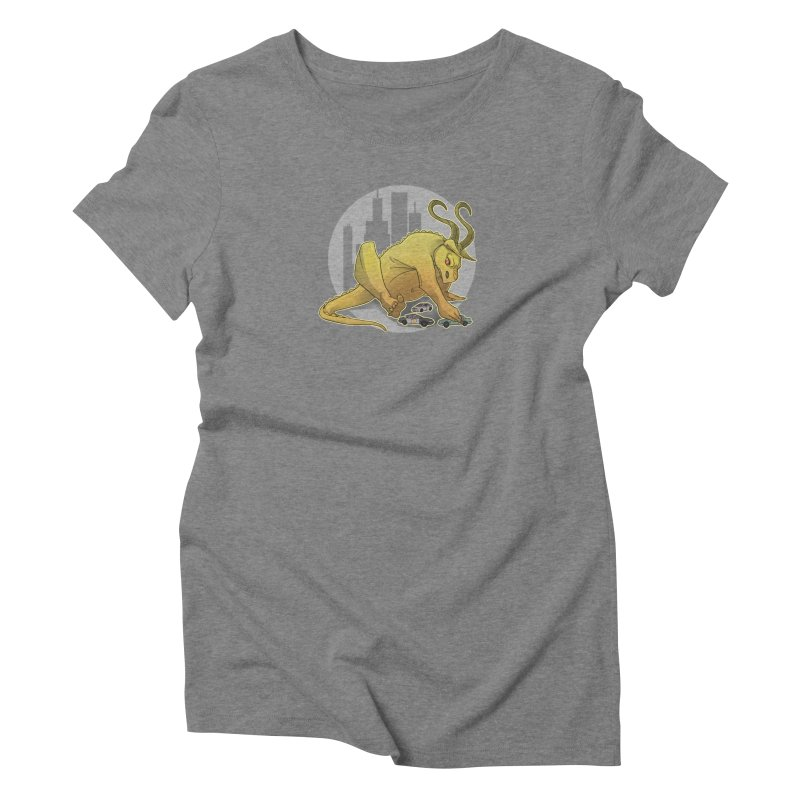 Vroom vroom! by K Lynn Smith Women's Triblend T-Shirt by Devil's Due Comics