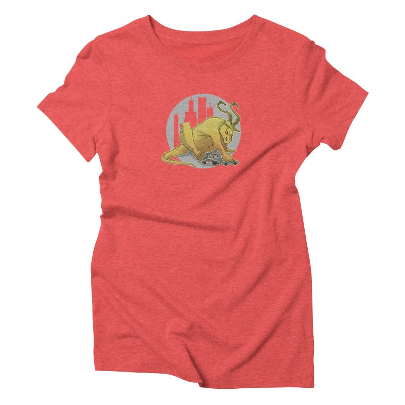 Vroom vroom! by K Lynn Smith Women's Triblend T-shirt by Devil's Due Entertainment Depot