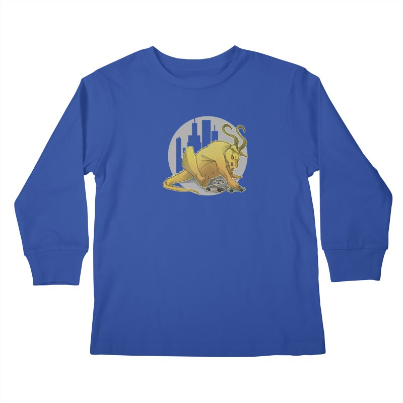 Vroom vroom! by K Lynn Smith Kids Longsleeve T-Shirt by Devil's Due Entertainment Depot