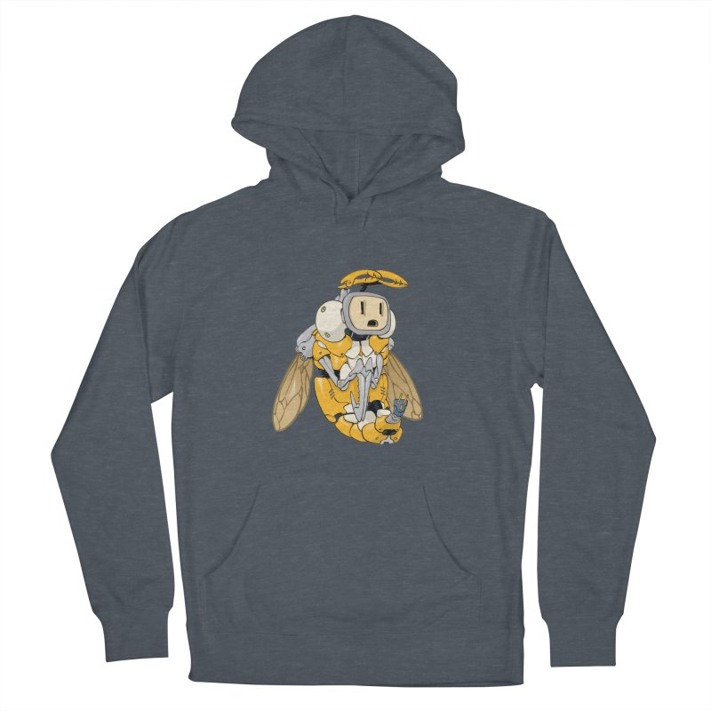 Buzz! by Tim Seeley Women's French Terry Pullover Hoody by Devil's Due Comics