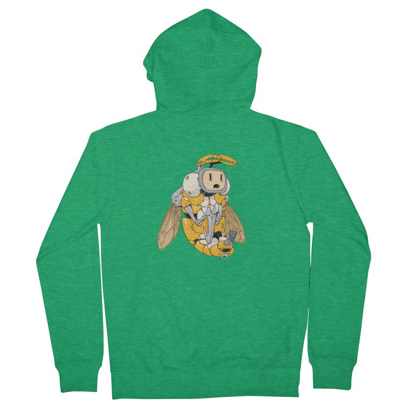 Buzz! by Tim Seeley Women's French Terry Zip-Up Hoody by Devil's Due Comics