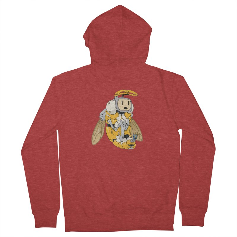 Buzz! by Tim Seeley Women's Zip-Up Hoody by Devil's Due Entertainment Depot