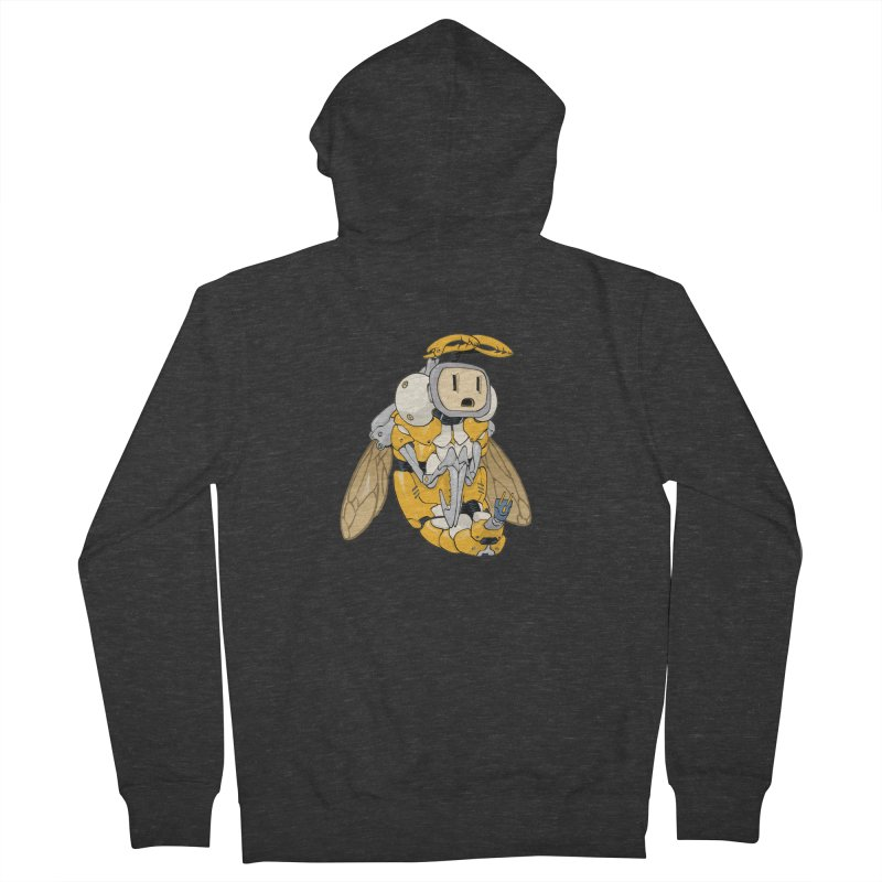 Buzz! by Tim Seeley Men's Zip-Up Hoody by Devil's Due Entertainment Depot