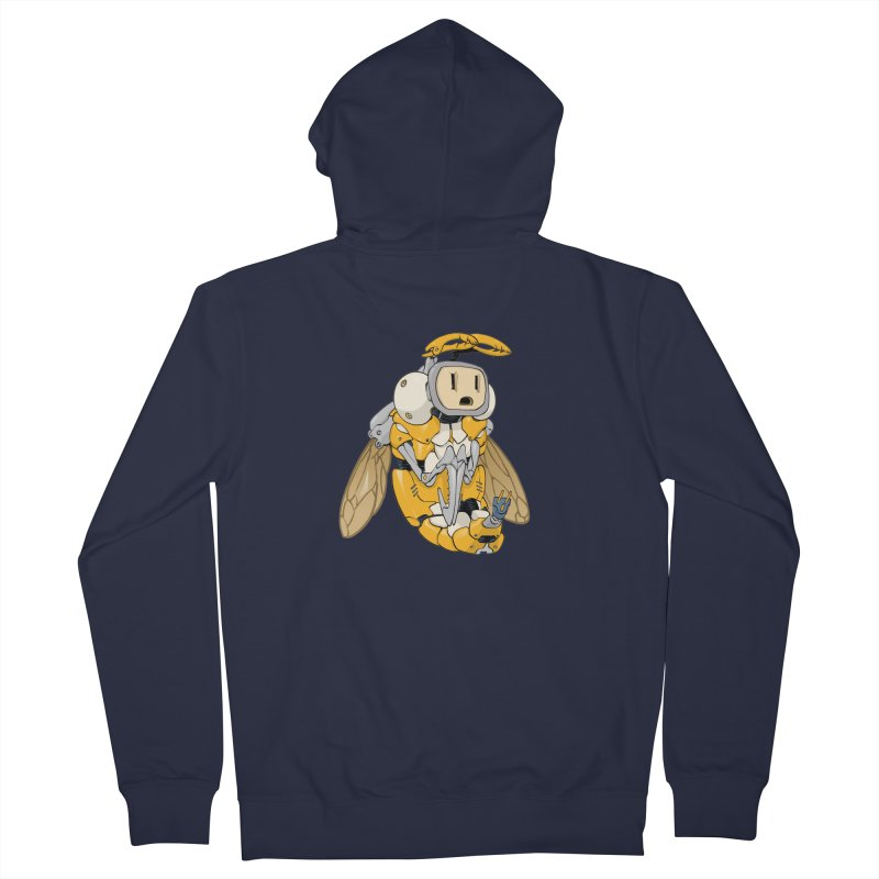 Buzz! by Tim Seeley Men's French Terry Zip-Up Hoody by Devil's Due Comics
