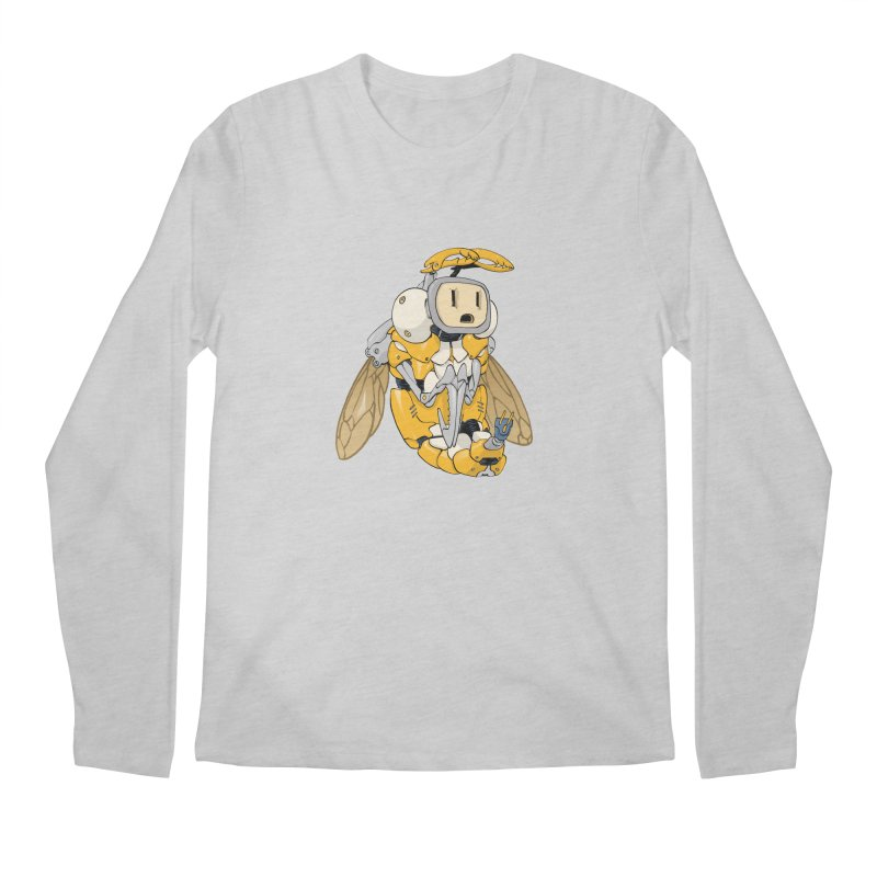 Buzz! by Tim Seeley Men's Regular Longsleeve T-Shirt by Devil's Due Comics