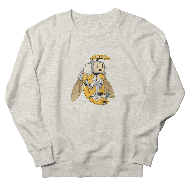 Buzz! by Tim Seeley Women's French Terry Sweatshirt by Devil's Due Entertainment Depot