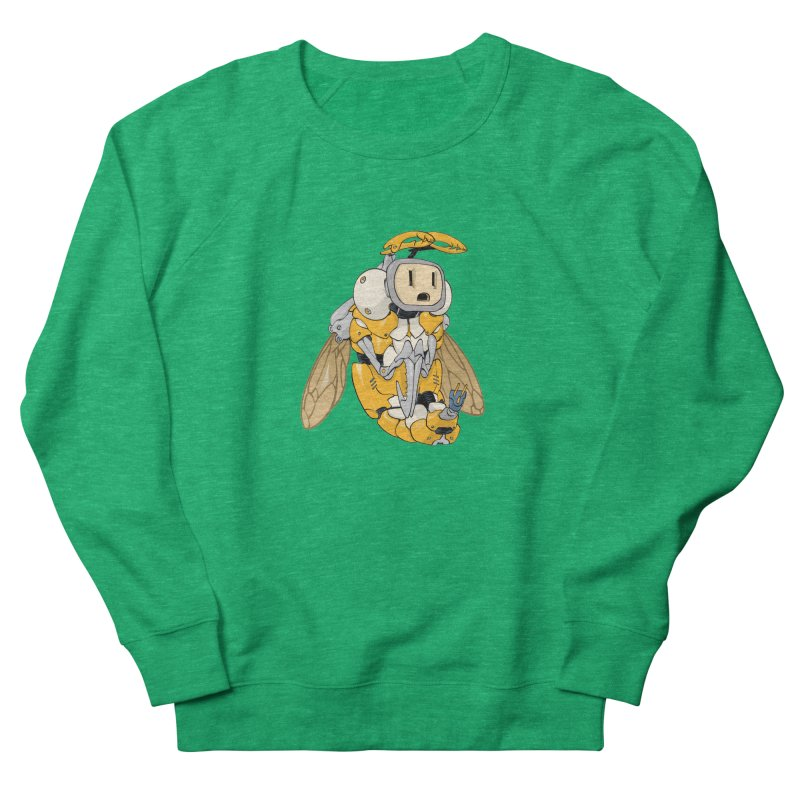 Buzz! by Tim Seeley Men's French Terry Sweatshirt by Devil's Due Comics