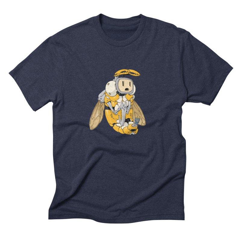 Buzz! by Tim Seeley Men's Triblend T-Shirt by Devil's Due Entertainment Depot