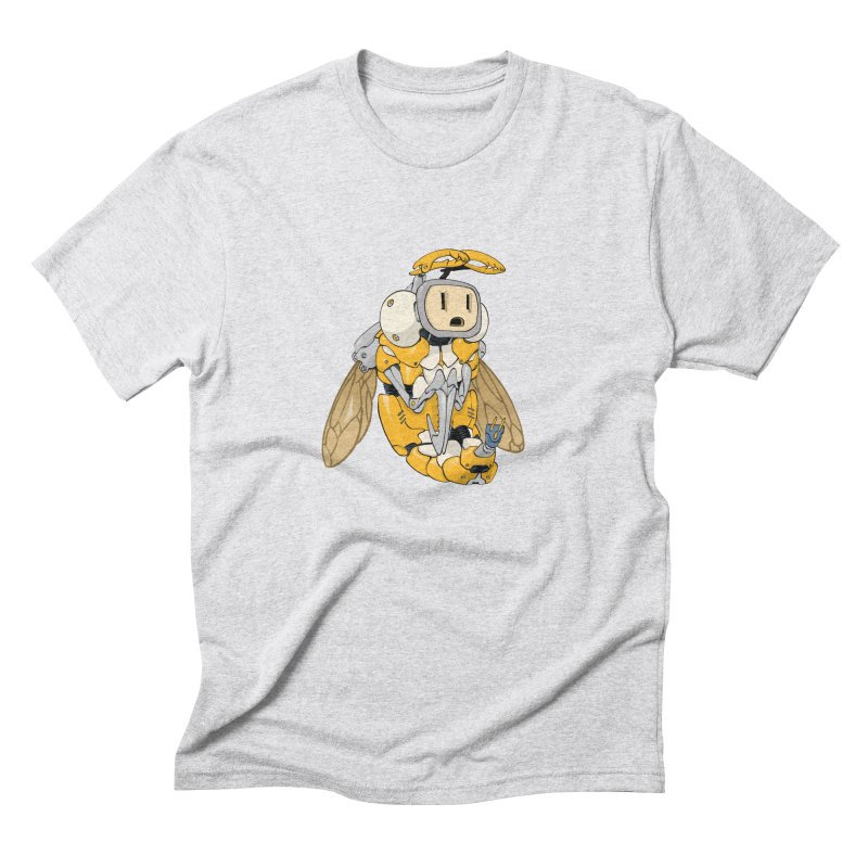 Buzz! by Tim Seeley Men's Triblend T-Shirt by Devil's Due Comics