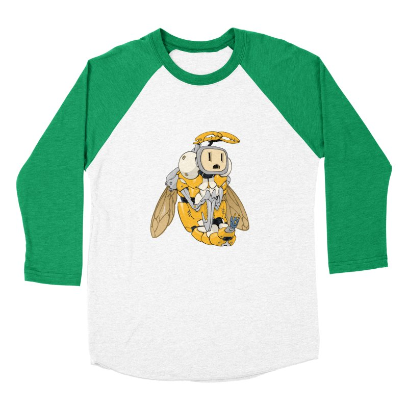 Buzz! by Tim Seeley Women's Baseball Triblend Longsleeve T-Shirt by Devil's Due Comics