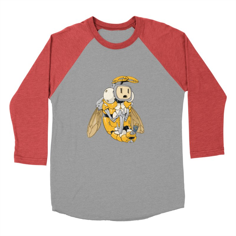 Buzz! by Tim Seeley Men's Baseball Triblend Longsleeve T-Shirt by Devil's Due Comics