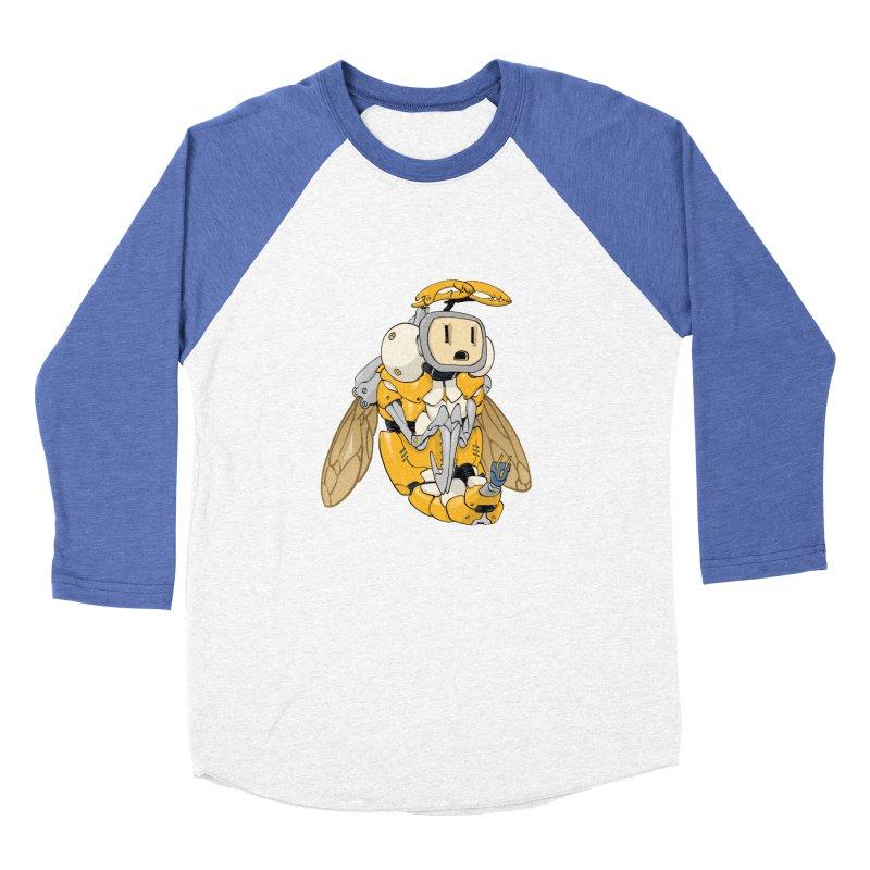 Buzz! by Tim Seeley Men's Baseball Triblend T-Shirt by Devil's Due Entertainment Depot
