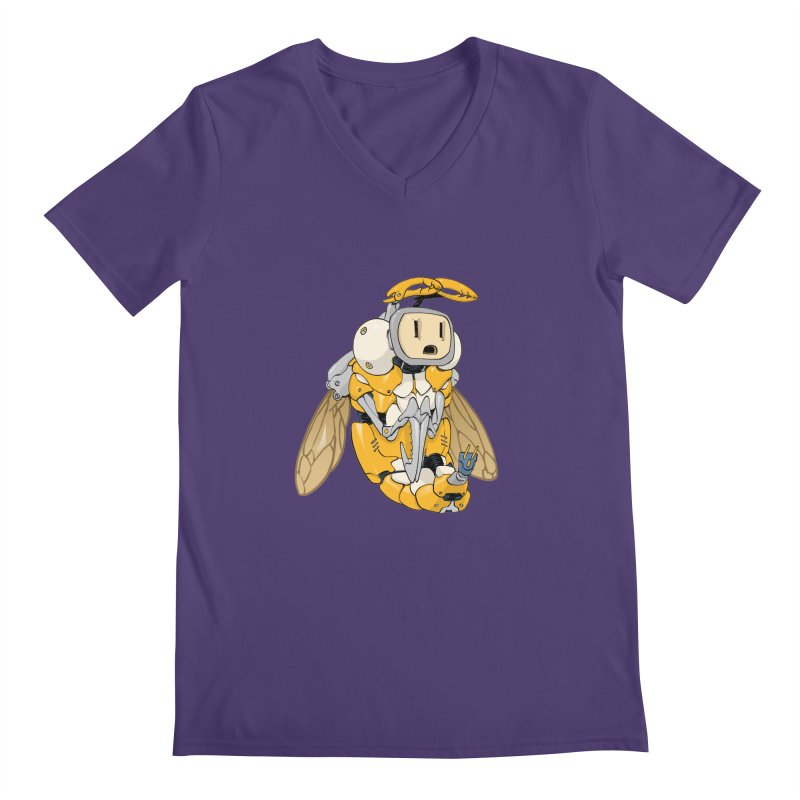 Buzz! by Tim Seeley Men's V-Neck by Devil's Due Entertainment Depot