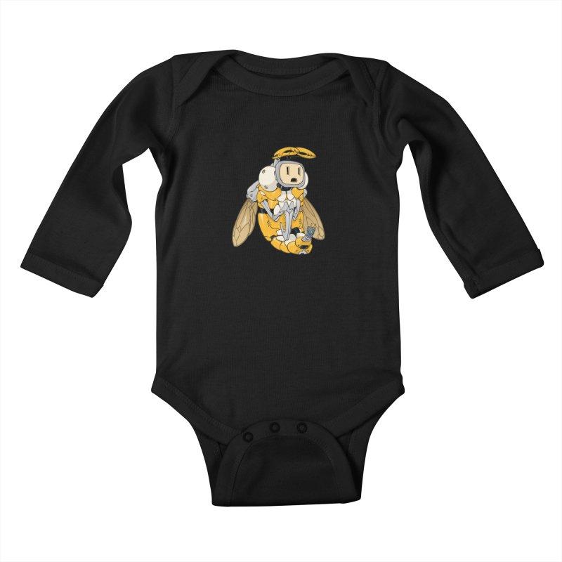 Buzz! by Tim Seeley Kids Baby Longsleeve Bodysuit by Devil's Due Entertainment Depot