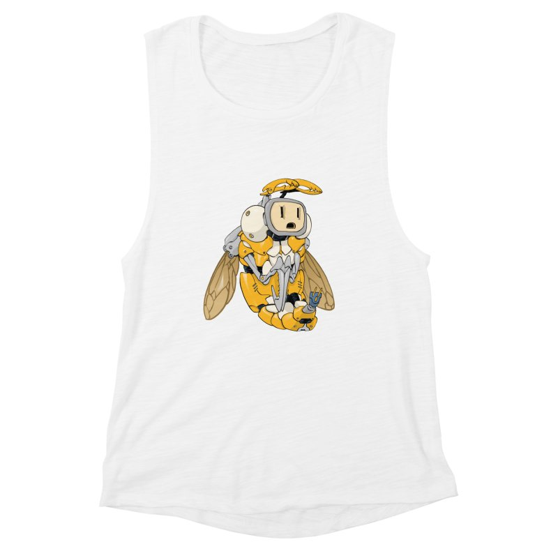 Buzz! by Tim Seeley Women's Muscle Tank by Devil's Due Comics