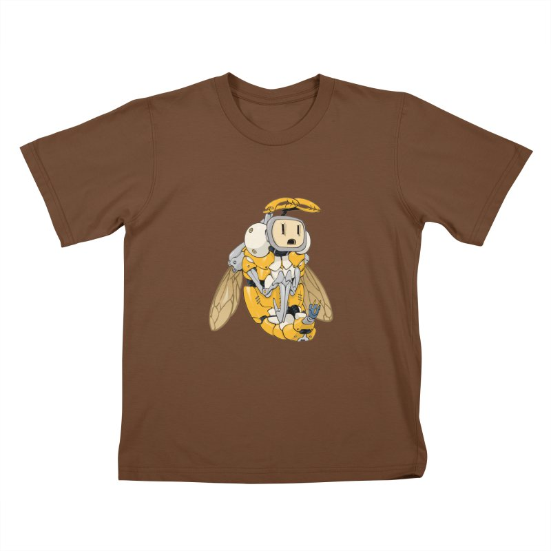 Buzz! by Tim Seeley Kids T-Shirt by Devil's Due Comics