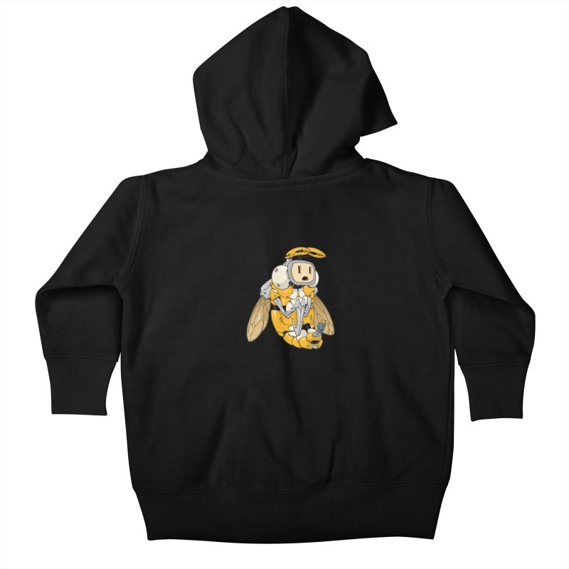 Buzz! by Tim Seeley Kids Baby Zip-Up Hoody by Devil's Due Comics