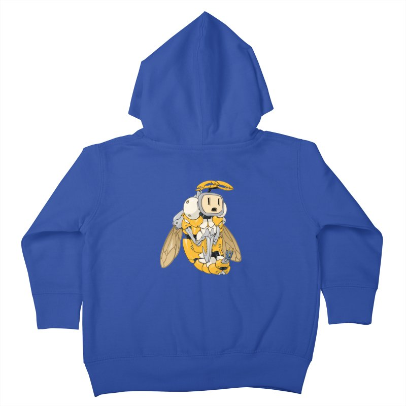 Buzz! by Tim Seeley Kids Toddler Zip-Up Hoody by Devil's Due Comics