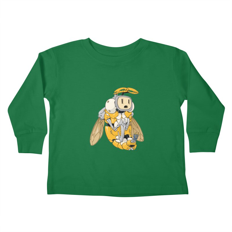 Buzz! by Tim Seeley Kids Toddler Longsleeve T-Shirt by Devil's Due Entertainment Depot