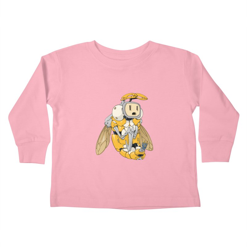 Buzz! by Tim Seeley Kids Toddler Longsleeve T-Shirt by Devil's Due Comics