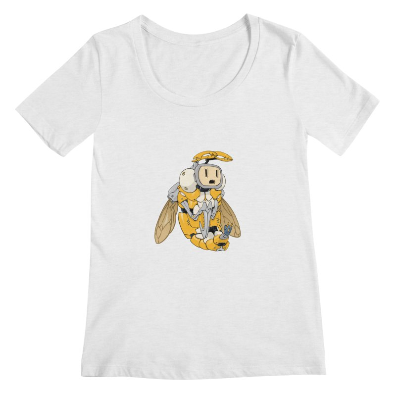 Buzz! by Tim Seeley Women's Regular Scoop Neck by Devil's Due Comics