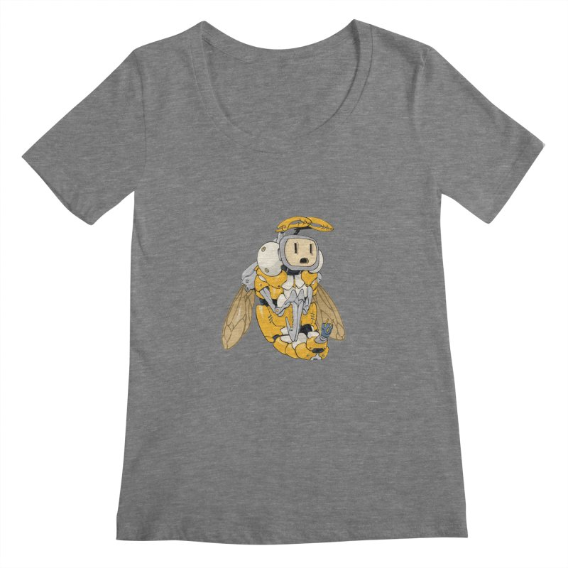 Buzz! by Tim Seeley Women's Scoopneck by Devil's Due Entertainment Depot