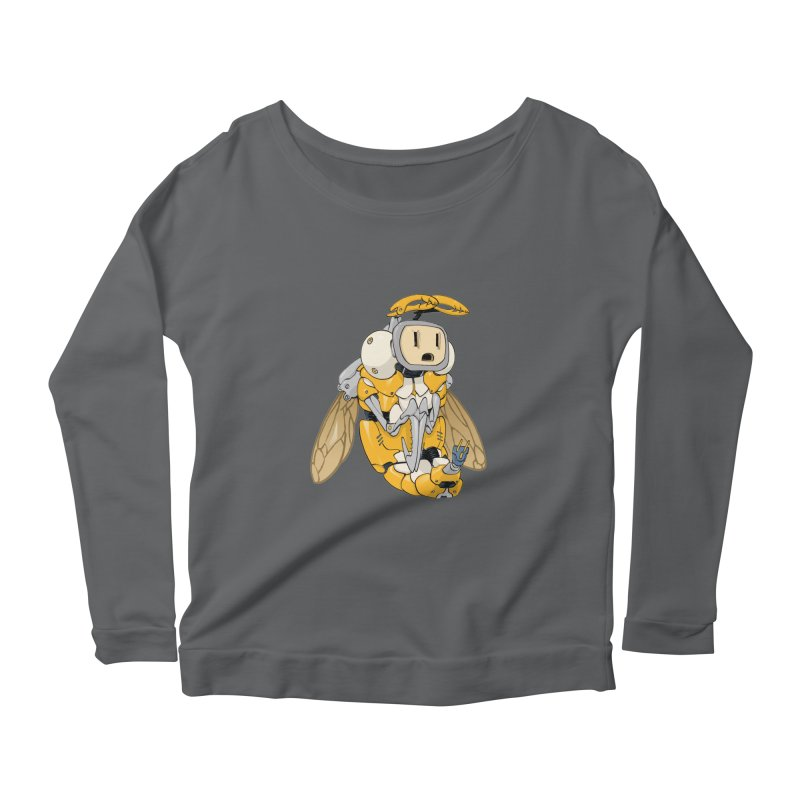 Buzz! by Tim Seeley Women's Longsleeve T-Shirt by Devil's Due Comics