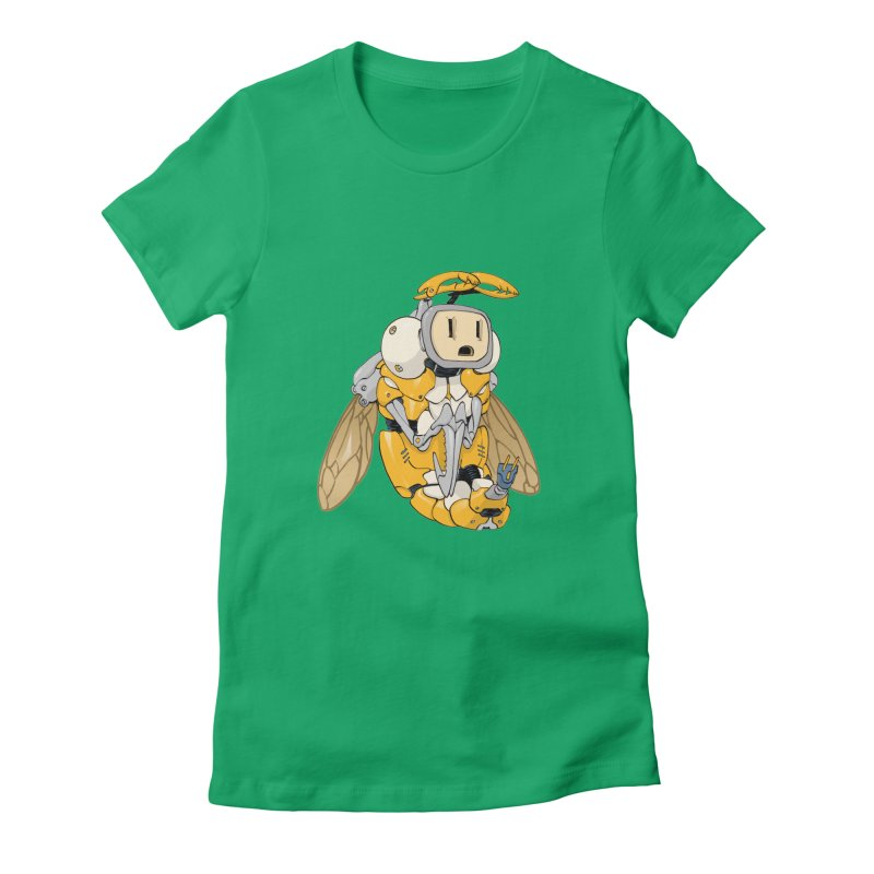 Buzz! by Tim Seeley Women's Fitted T-Shirt by Devil's Due Entertainment Depot