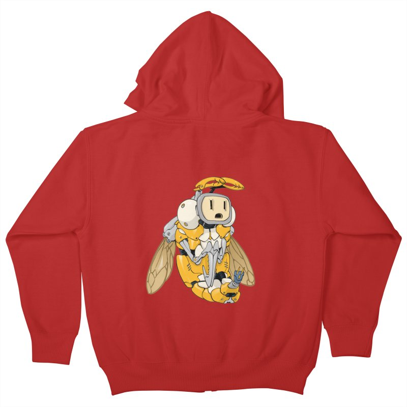 Buzz! by Tim Seeley Kids Zip-Up Hoody by Devil's Due Entertainment Depot
