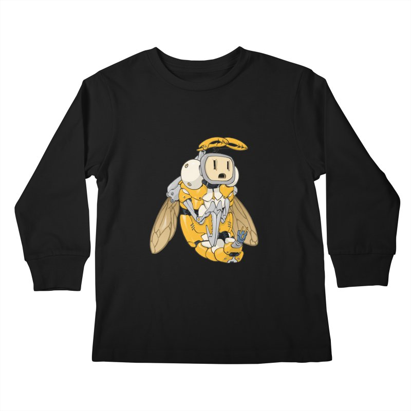 Buzz! by Tim Seeley Kids Longsleeve T-Shirt by Devil's Due Comics