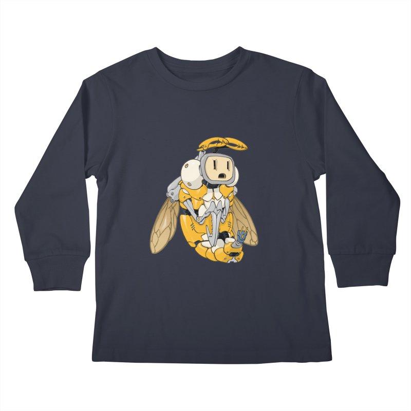 Buzz! by Tim Seeley Kids Longsleeve T-Shirt by Devil's Due Comics