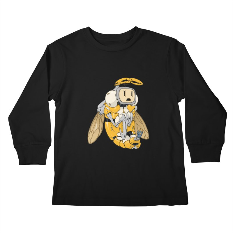 Buzz! by Tim Seeley Kids Longsleeve T-Shirt by Devil's Due Entertainment Depot