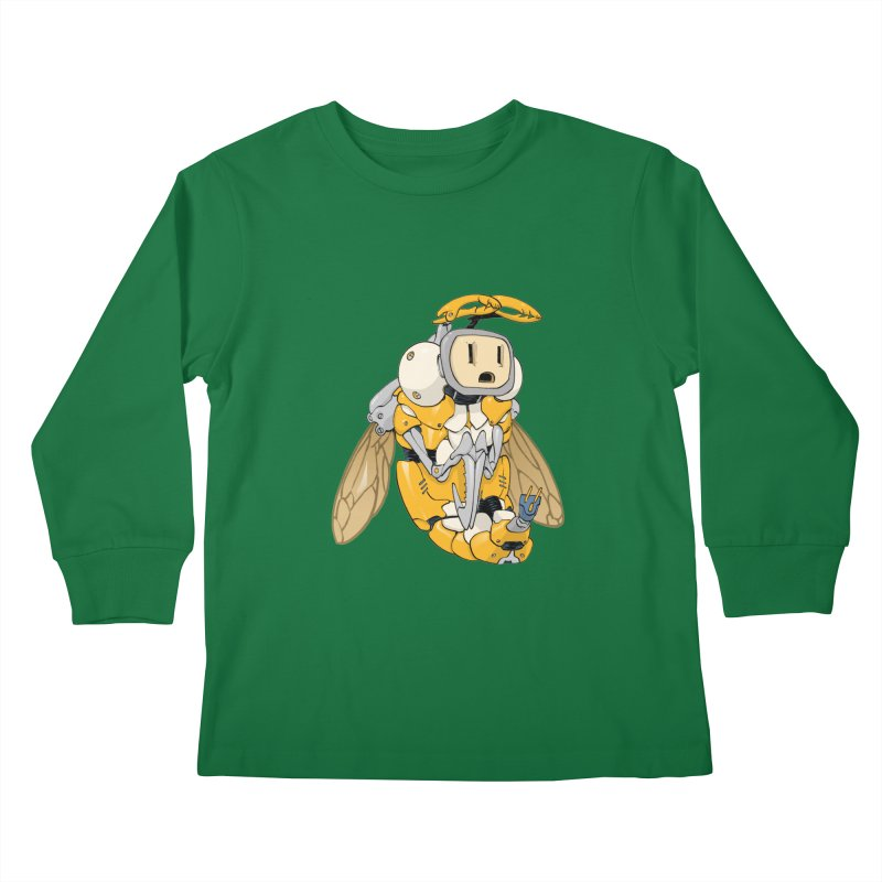 Buzz! by Tim Seeley Kids Longsleeve T-Shirt by Devil's Due Entertainment Depot
