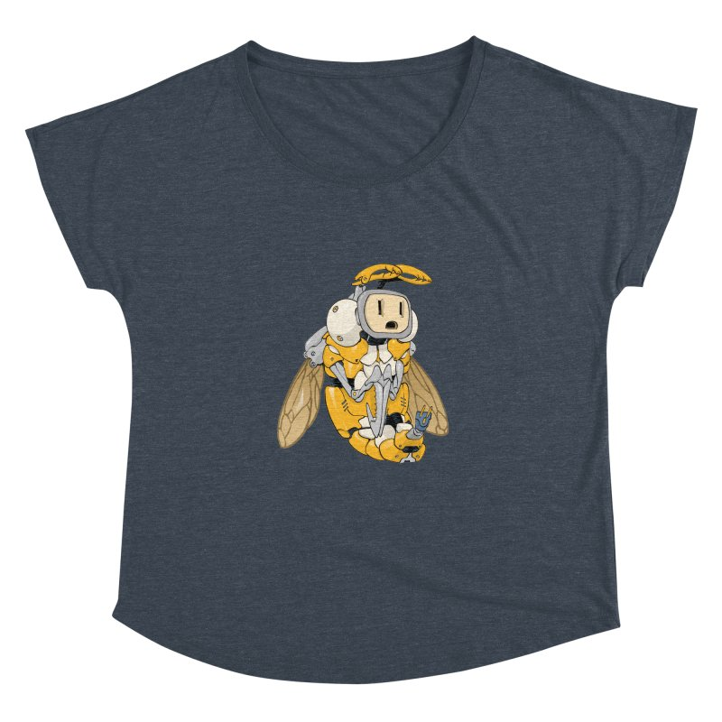 Buzz! by Tim Seeley Women's Scoop Neck by Devil's Due Comics