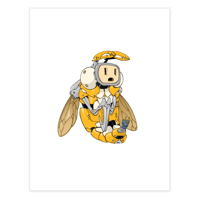 Buzz! by Tim Seeley Home Fine Art Print by Devil's Due Comics