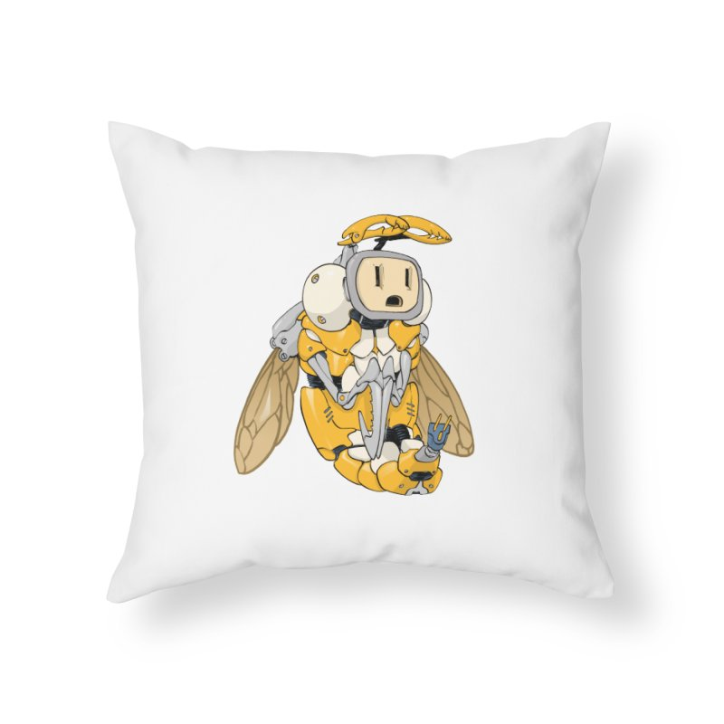 Buzz! by Tim Seeley Home Throw Pillow by Devil's Due Comics