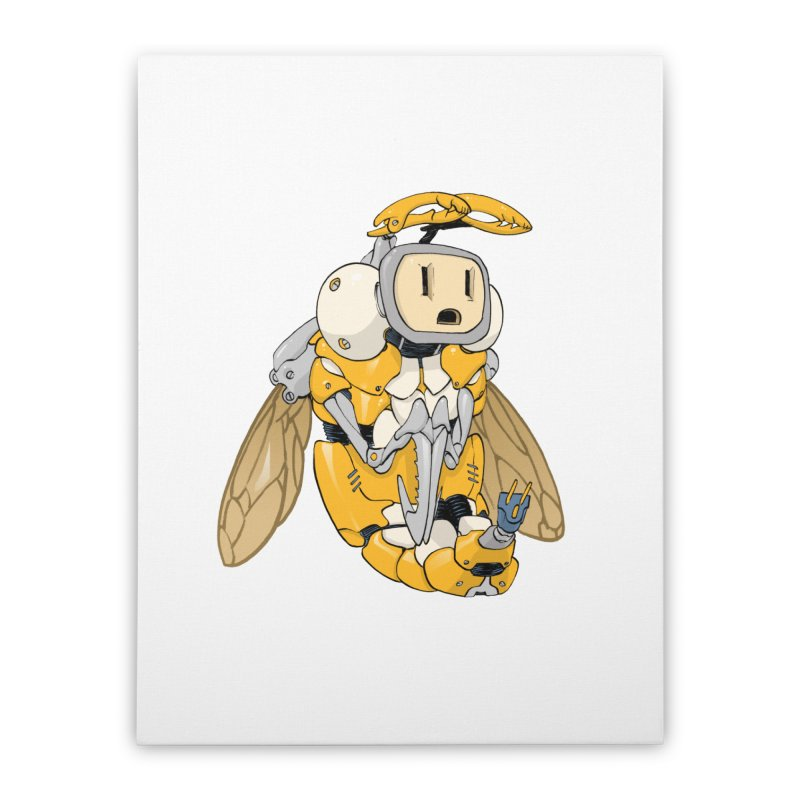Buzz! by Tim Seeley Home Stretched Canvas by Devil's Due Entertainment Depot